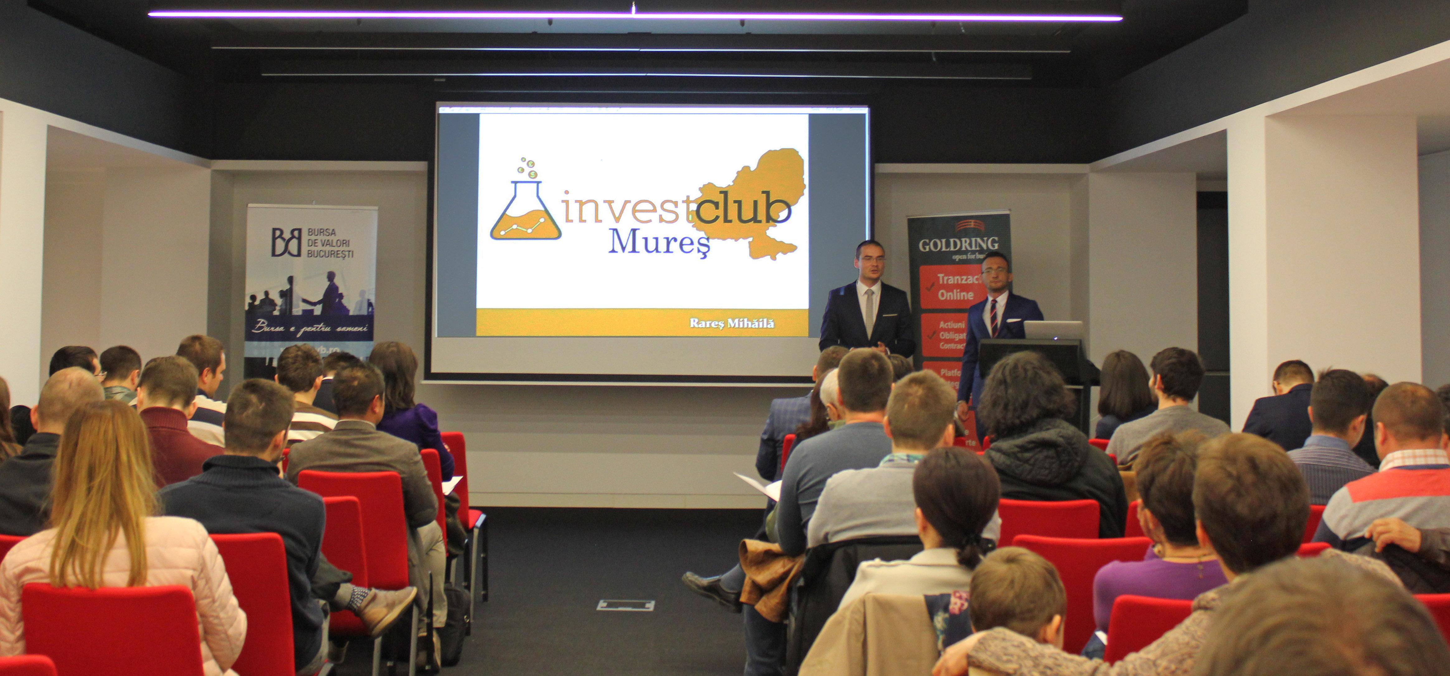 Lansare Invest Club Mures